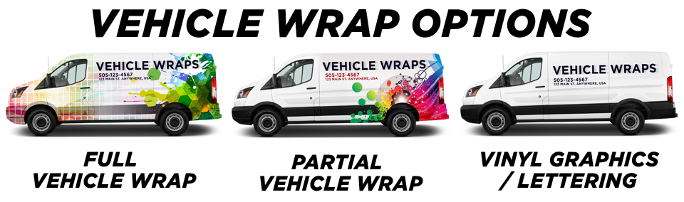 Tampa Vehicle Wraps & Graphics vehicle wrap options