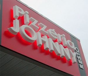 custom storefront lighted dimensional letters
