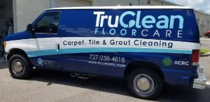 Tampa Vinyl Printing Vehicle Wrap Tru Clean 300x146