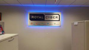 Westchase Lighted Signs Royal Cyber Indoor Lobby Sign Backlit 300x169